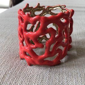 Coral cuff